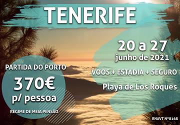 Imperdível: uma semana nas Canárias por 370€ por pessoa