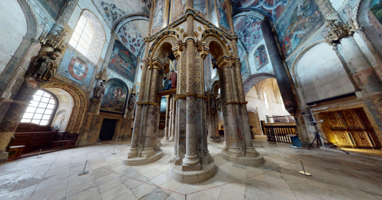 Já pode visitar o Convento de Cristo sem sair de casa