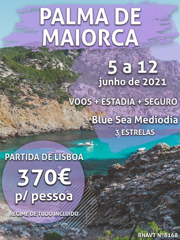 Não é um sonho: esta viagem para Palma de Maiorca custa mesmo 370€ com tudo incluído