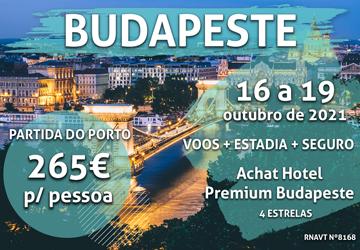 Prepare-se para um fim de semana em Budapeste só por 265€ por pessoa