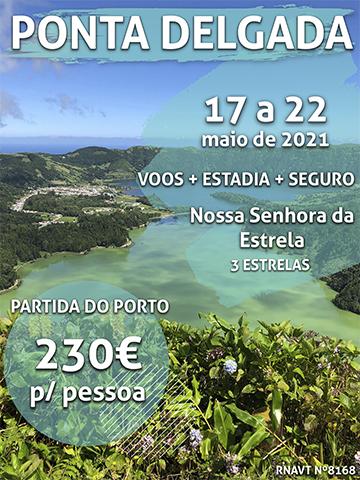 Esta escapadinha para Ponta Delgada só custa 230€ por pessoa (com voo e hotel)