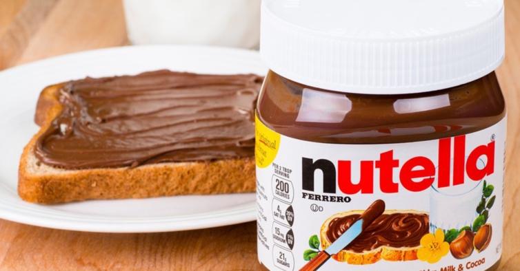 Nutella já é produzida só com cacau 100% sustentável