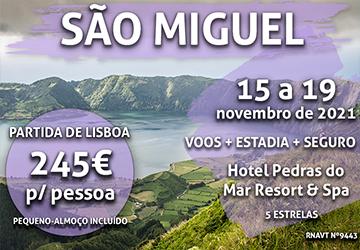 Temos mais uma semana nos Açores por 245€ num hotel com vista para o mar