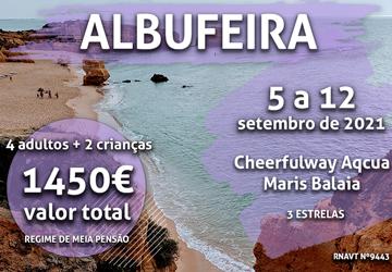 Temos mais uma escapadinha para famílias no Algarve por 1.450€
