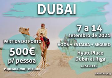 É a loucura: uma semana no Dubai por 500€ por pessoa