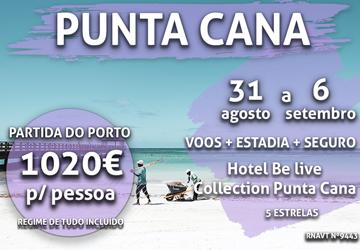 É a loucura: uma semana incrível em Punta Cana por 1020€ com tudo incluído