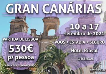 Esta escapadinha para Gran Canária só custa 530€ (com voo e hotel)