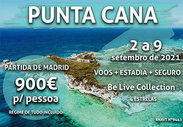 Última chamada: uma semana em Punta Cana só por 900€ por pessoa