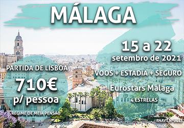 Aproveite: uma escapadinha em Málaga por 710€ num hotel de 4 estrelas