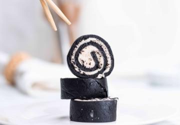 Só precisa de 2 ingredientes para preparar este sushi viral de Oreo