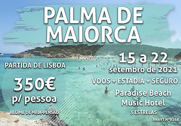 Uma semana em Palma de Maiorca por 350€ por pessoa (com voo e hotel)