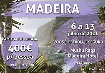 Alerta, férias: uma semana na Madeira por 400€ num hotel de 4 estrelas