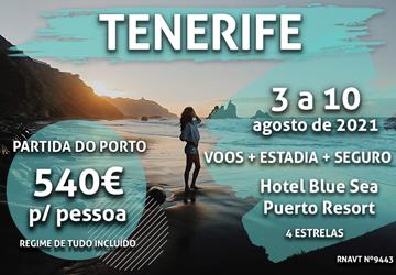 Veja esta conta: uma semana nas Canárias + voo + hotel = 540€