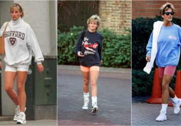 Os novos shorts da Tezenis lembram um look icónico da princesa Diana (custam 9,99€)