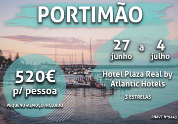 Temos mais uma semana incrível no Algarve por apenas 520€