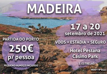Aproveite este fim de semana incrível na Madeira por 250€ num hotel de 5 estrelas