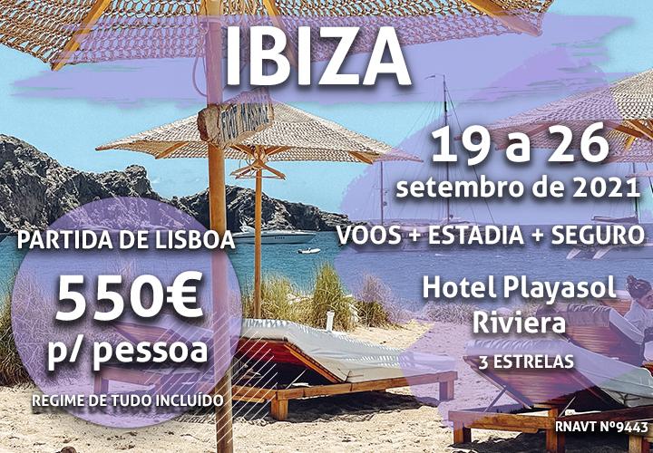 Alerta, férias: uma semana em Ibiza por 550€ num hotel tudo incluído