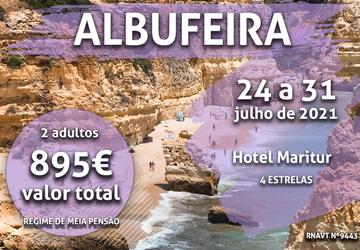 Aproveite: uma semana incrível no Algarve por apenas 895€