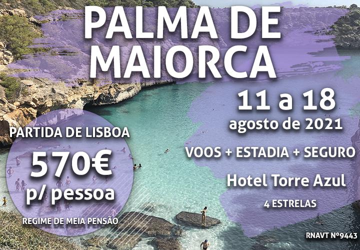 É a loucura: uma semana em Palma de Maiorca por apenas 570€
