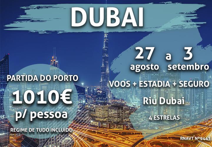 Não é uma miragem: 7 noites no Dubai por 1010€ num hotel com tudo incluído