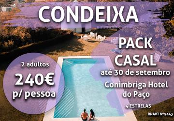 Coimbra: temos um pacote de experiências ideal para casais por 240€