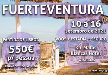 Esta viagem incrível para Fuerteventura só custa 550€ num hotel tudo incluído