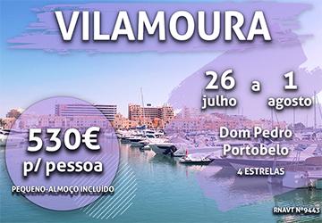 Temos mais um pacote imperdível para o Algarve por 530€