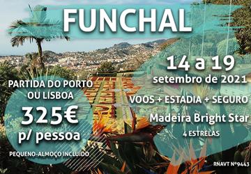 Temos mais uma viagem para a Madeira por apenas 325€ num hotel de 4 estrelas