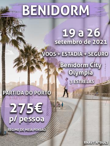 Pára tudo: esta viagem para Benidorm só custa 275€ por pessoa
