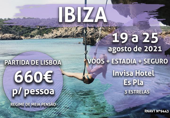 Temos mais uma viagem imperdível para Ibiza por 660€ (com voo e hotel)