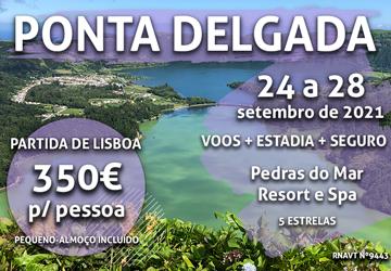 Não é um sonho: esta maravilhosa escapadinha para os Açores só custa 350€