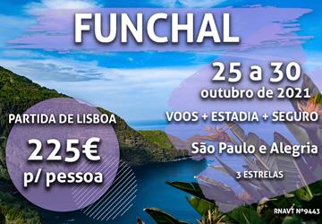 Temos mais uma semana imperdível na Madeira por apenas 225€