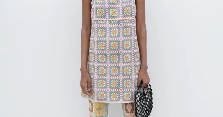Vestido de crochet (29,95€)