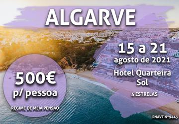 Aproveite já: 6 noites no Algarve por 500€ com meia-pensão