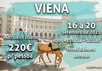 Última chamada: 4 noites em Viena de Áustria por 220€ (com voo e hotel)