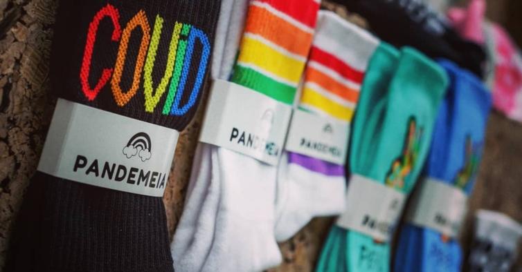 Pandemeia: a marca de meias que foi um sucesso na pandemia tem uma nova coleção