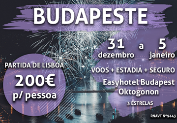 Quer passar o réveillon em Budapeste? Temos uma sugestão perfeita (e só custa 200€)