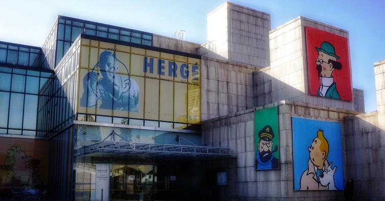 """Lisboa vai receber uma exposição gigante sobre o autor de """"Tintin"""""""