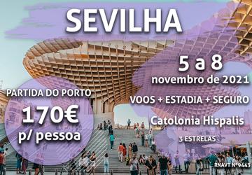 Pára tudo: temos mais um fim de semana em Sevilha por 170€