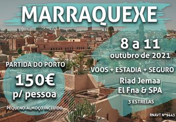 Não é uma miragem: esta escapadinha para Marrocos custa 150€ por pessoa