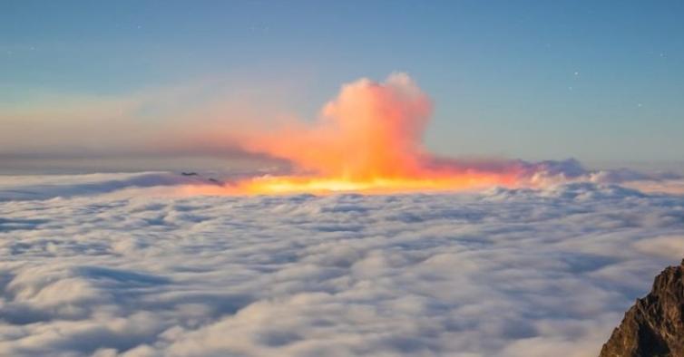 """Cone de vulcão de La Palma colapsa e espera-se """"evolução de emergência vulcânica"""""""