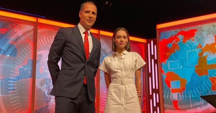 """Daniela Melchior é a entrevistada deste domingo em """"Isto é Gozar Com Quem Trabalha"""""""