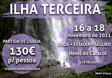 Temos mais uma maravilhosa viagem para os Açores por 130€