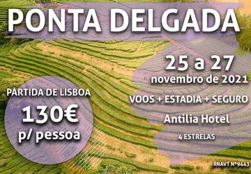 Pára tudo: temos mais uma escapadinha para os Açores por 130€