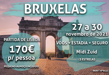Esta maravilhosa escapadinha romântica para Bruxelas só custa 170€ por pessoa