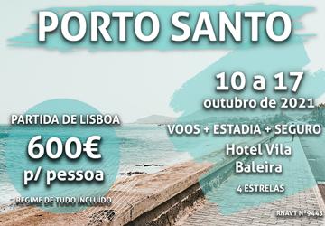 Última chamada: Lisboa-Madeira por apenas 600€ num hotel com tudo incluído