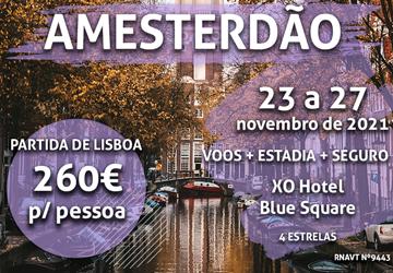 Prepare-se para uns dias incríveis em Amesterdão por 260€ (com voo e hotel)
