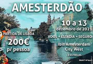 Esta viagem incrível para Amesterdão só custa 200€ (com voo e hotel)
