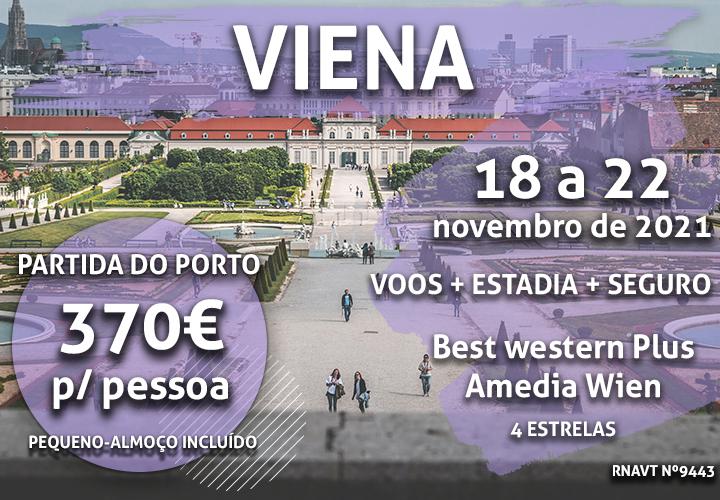 Escapadinha flash: 4 noites em Viena por 370€ (com voo e hotel)