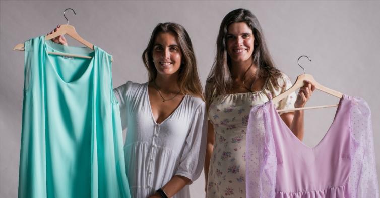 As duas amigas que aproveitaram a pandemia para criar uma marca de roupa de festa